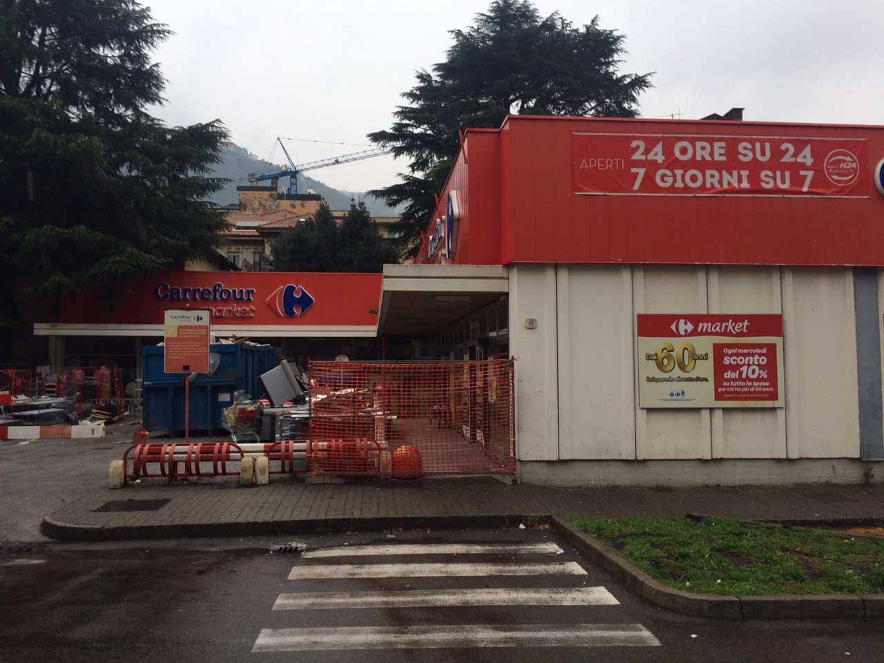 Negozio Carrefour